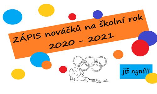Zápis nováčků k trénování s Človíčky ve školním roce 2021-2022 - NETÝKÁ SE STÁVAJÍCÍCH DĚTÍ