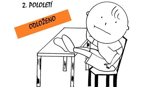ODKLÁDÁME 2. POLOLETÍ